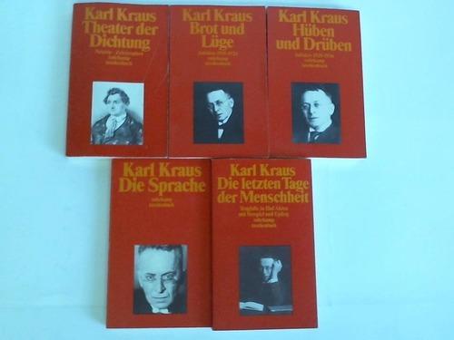 5 Bände: Kraus, Karl