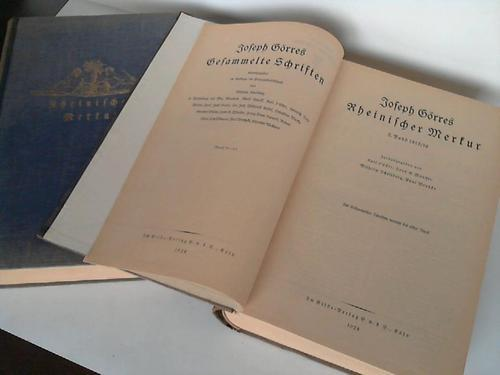 Rheinischer Merkur. Bände 6-11 in 2 Bänden: Görres, Joseph