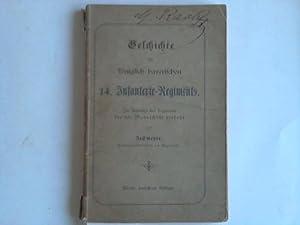 Geschichte des königlich bayerischen 14. Infanterie-Regiments: Zechmeyer, Premierlieutenant