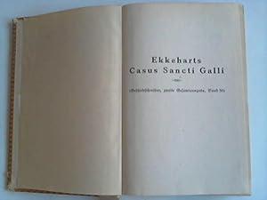 Ekkeharts IV. Casus Sancti Galli nebst Proben aus den übrigen lateinisch geschriebenen ...