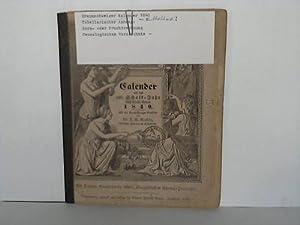 Calender auf das 460. Schalt-Jahr nach Christi Geburt 1840: Braunschweiger Kalender - Kerstein, F.S...