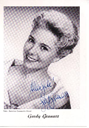 Signierte Autogrammkarte: Granass, Gardy