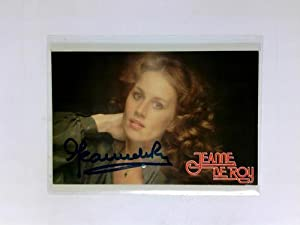 Signierte Autogrammkarte: De Roy, Jeanne (Sängerin)