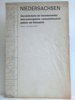 Übersichtskarte der Naturdenkmäler, Naturschutzgebiet, Landschaftsschutzgebiet und ...