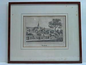 Neukirch - Steindruck, nach der Natur gezeichnet von J. Möckel: Neukirch/Sachsen - Renner und ...