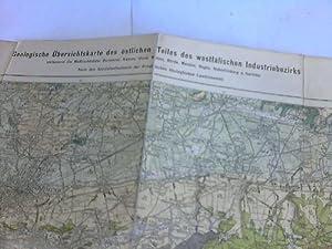 Geologische Übersichtskarte des östlichen Teiles des westfälischen Industriebezirks ...