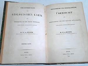 Orographische und hydrographische Übersicht / Geologische und Mineralogische Litteratur ...