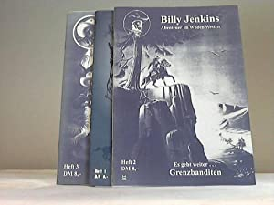 3 Hefte: Billy Jenkins - Abenteuer im Wilden Westen
