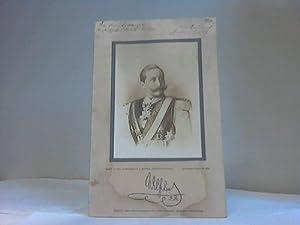 Uniformiertes Brustbild. Fotographie: Wilhelm der Zweite