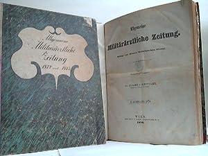 Allgemeine Militärärztliche Zeitung. Beiträge zur Wiener Medizinischen Presse 1870 -...