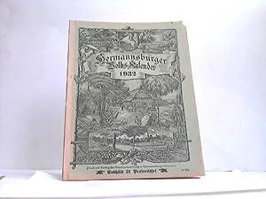 1932: Hermannsburger Volks-Kalender