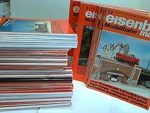 Sammlung von 60 verschiedenen Heften aus 1979 bis 2001: Eisenbahnmagazin Modellbau
