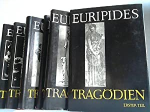 Euripides Tragödien, Erster bis sechster Teil, Schriften und Quellen der Alten Welt. 6 Bä...