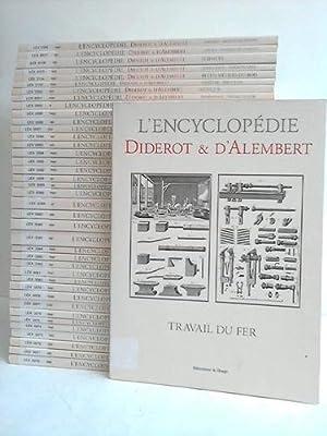 Recueil de Planches, sur les Sciences, les Arts Libéraux, et les Arts Méchaniques, ...