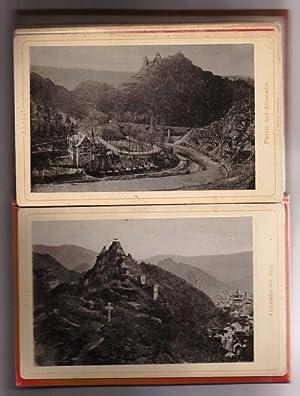 Leporello von 12 original Fotografien mit verschiedenen Ansichten: Ahrtal / Altenahr