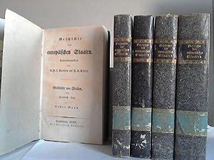 Geschichte der italienischen Staaten. 5 Bände: Leo, Heinrich