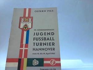 VII. internationales Jugend-Fußballturnier, Hannover, Ostern 1956: Fußballprogramm