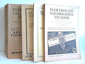 66 Ausgaben aus 1927 bis 1943,: Elektronische Nachrichten-Technik