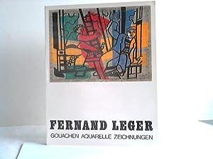 Gouachen, Aquarelle, Zeichnungen: Léger, Fernand
