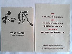 Tosa Washi (Handmade Paper). Japanisches Büttenpapier und seine Herstellungsverfahren: Japico ...