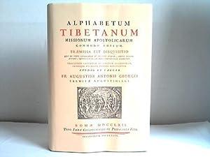 Alphabetum Tibetanum missionum apostolicarum commodo editum. Praemissa est disquisitio qua de vario...