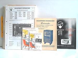 38 Blaupunkt-Kundendienstschriften, Schaltbilder und Bedienungsanleitungen für Fernsehgeräte: ...