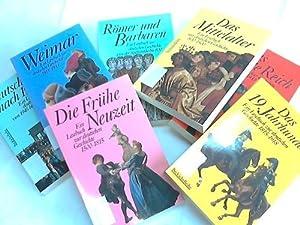 Ein Lesebuch zur deutshen Geschichte. 7 Bände: Beck/Burgard/Conze/Metzler u.a. (Hrsg.)