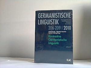 Kontrastive germanistische Linguistik 206 - 209, Teilband 2: Dammel, Antje/Kürschner, Sebastian/...