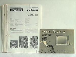 7 Service-Unterlagen, Bedienungsanleitungen und Schaltpläne: Loewe Opta, Kronach