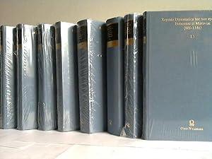 Regesta diplomatica nec non epistolaria Bohemiae et Moraviae (600 - 1346). Band I.1/I.2/...
