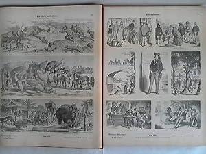 Sammlung von 456, teils kolorierten Bilderbögen in 2 Bänden: M�nchener Bilderbogen, Die ...
