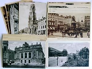25 Postkarten/Feldpostkarten: Lille