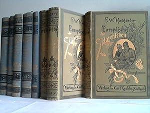 4 Bände in 8 Bänden: Hackl�nder, F.W.