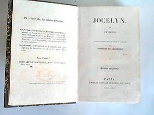 Jocelyn: Lamartine, Alphonse de
