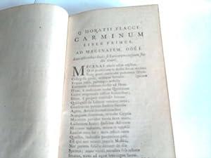 Carminum: Horatius Flaccus, Quintus