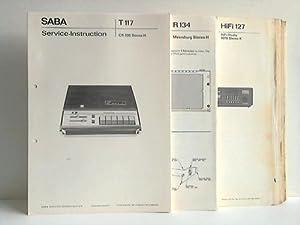 59 Service-Instructions (Anleitungen), Service-Schaltbilder und Ersatzteillisten für Radio-Ger...