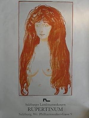 Salzburger Landessammlungen - Plakat im Offsetdruck: Munch, Eduard - Rupertinum Salzburg