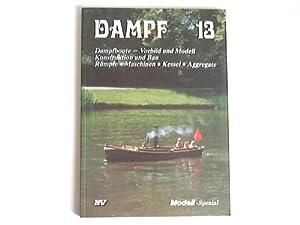 Dampf. Dampfboote - Vorbild und Modell, Konstruktion: Vieweg, Theodor (Hrsg.)