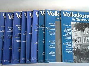 14 Bände: Volkskunde in Niedersachsen