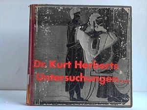 Untersuchungen über die Anwendbarkeit historischer Malverfahren: Herberts, Kurt