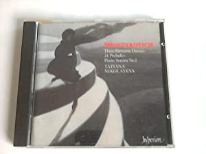 Dimitri. Shostakovich. Three Fantastic Dances. 24 Preludes.: Nikolayeva, Tatiana