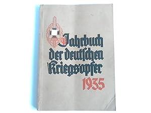 Jahrbuch der deutschen Frontsoldaten und Kriegsopfer 1935: Oberlindober, Hanns (Hrsg.)