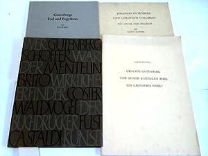 4 verschiedene Schriften: Ruppel, Aloys