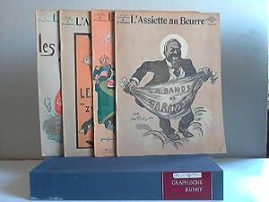 26 Einzelhefte vom 25.9.1909 bis zum 22.10.1910: L'Assiette au Beurre