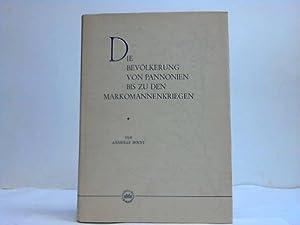 Die Bevölkerung von Pannonien bis zu den Markomannenkriegen: Mócsy, Andreas