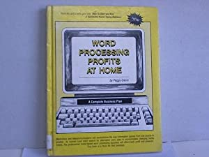 Word Processing Profits At Home
