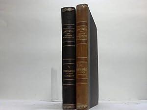 Anordnung der Bahnhöfe. 2 Bände: Loewe, F./Zimmermann, H. (Hrsg.)