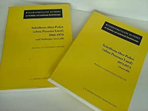Schrifttum über Polen (ohne Posener Land) 1966-1970 und Nachträge. Schrifttum über ...