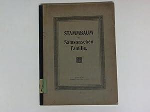 Stammbaum der Samsonschen Familie: Berliner, Moritz