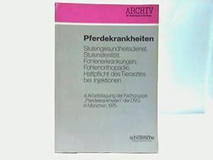 Pferdekrankheiten: Hauser, K. W. (Hrsg.)